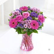 Colour Your Day with Happiness Vase Standard