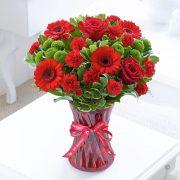 Happy Anniversary Vase Standard