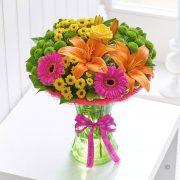 Happy Birthday Vibrant Perfect Gift Standard