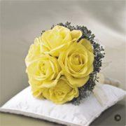 Lemon Rose Bridal Posy
