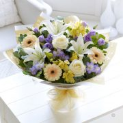 Soft Pastels Scented Sympathy Hand-tied Standard