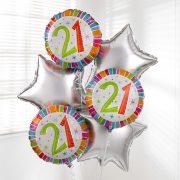 21st-birthday-balloon-bouquet