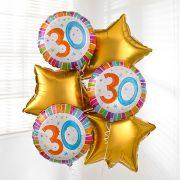 30th-birthday-balloon-bouquet
