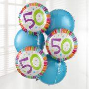 50th-birthday-balloon-bouquet