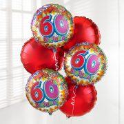 60th-birthday-balloon-bouquet