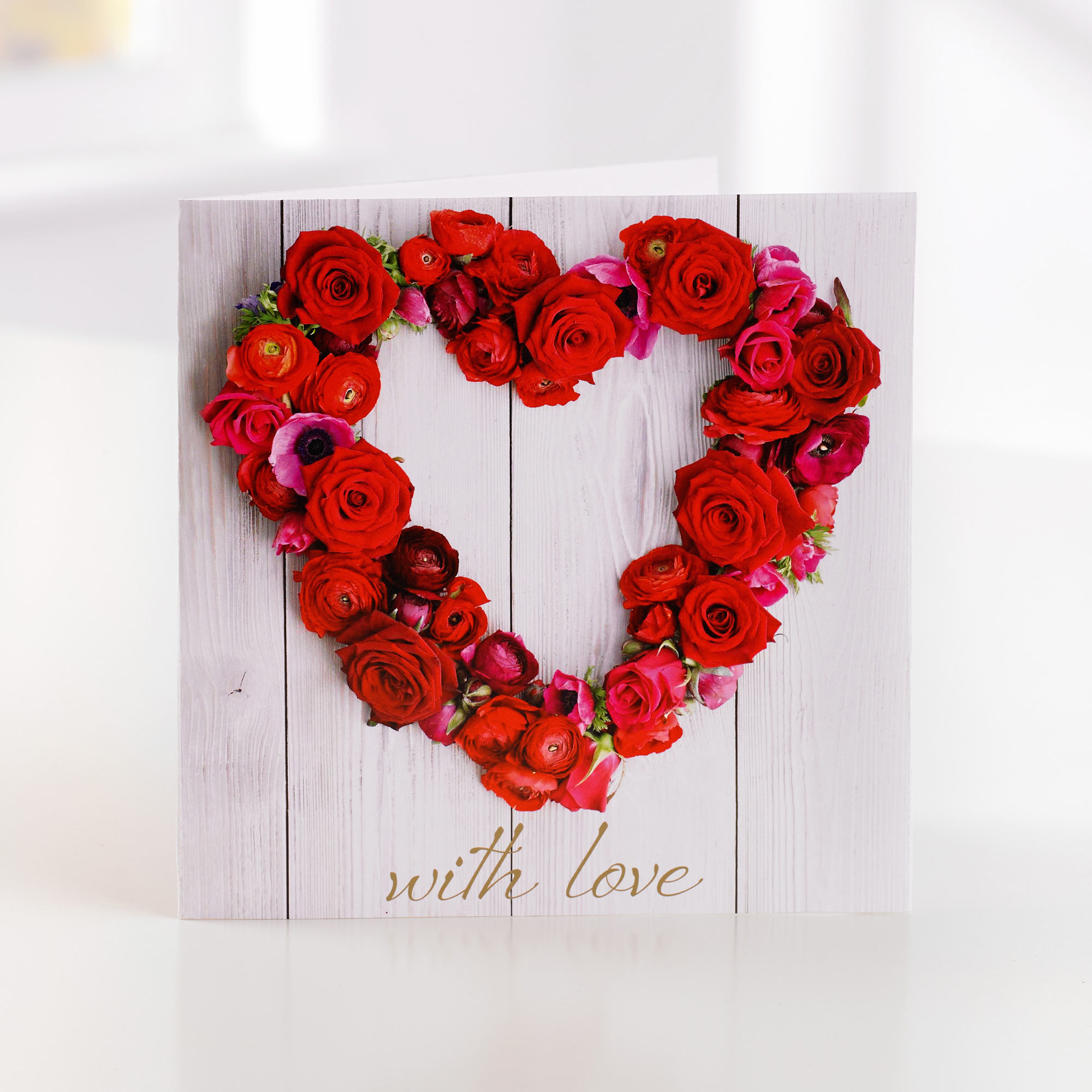 With love greetings card sweeneys florist with love greetings card kristyandbryce Image collections