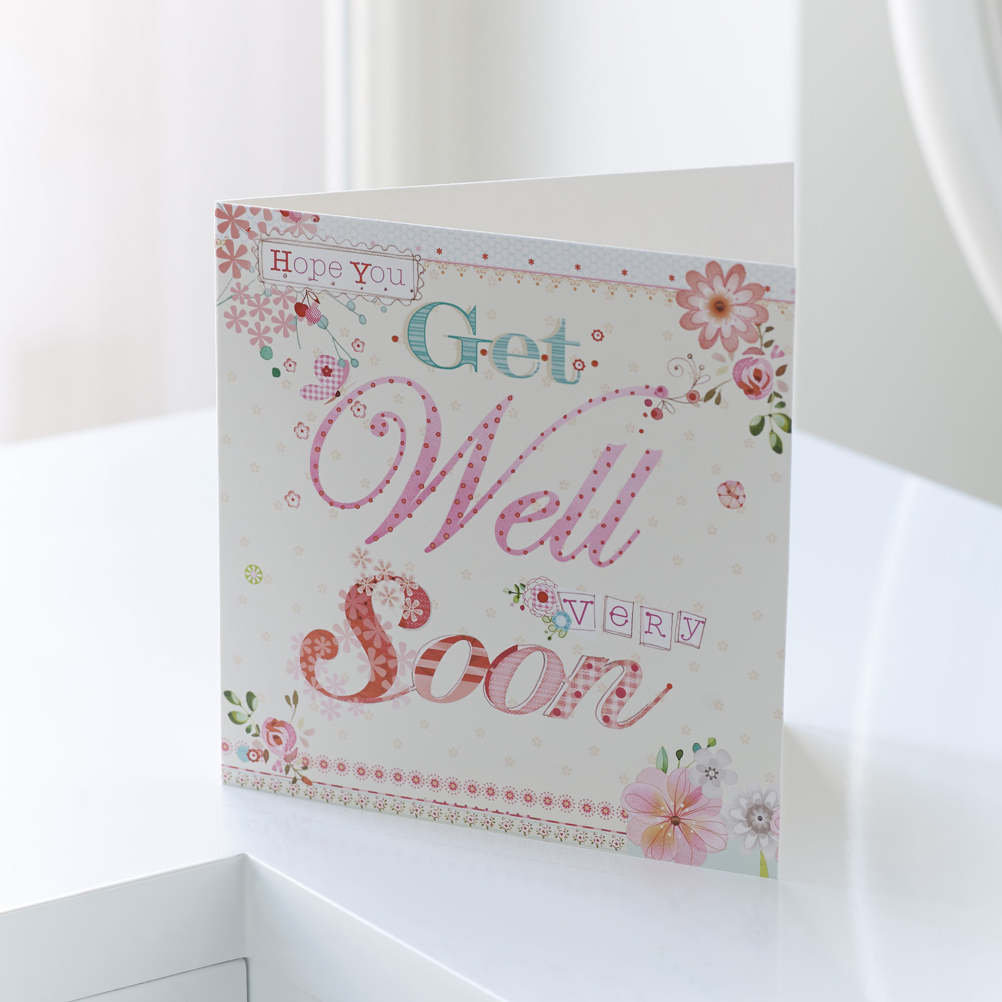 Get Well Soon Greetings Card Sweeneys Florist