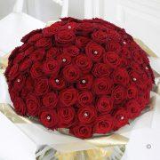 Ultimate 100 Luxury Rose Hand-tied