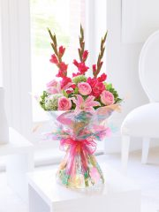 summer_gladioli_lily_and_rose_hand-tied
